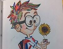 "Drawing inspiration ""Sherman"" Part II"