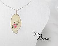 Sumi-e Miniatures- Jewelry