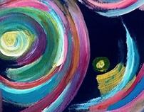 Acrylic colours