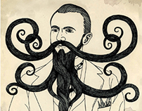 World Beard & Moustache Championship Poster