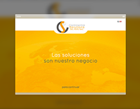 CS DEL PERÚ - Web Design