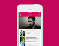 STEREOLUX // CONCEPT APP