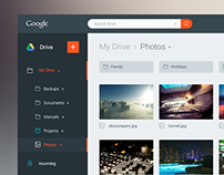Google Drive Redesign Concept