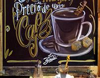La Bicicleta Café Signs