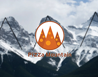 Pizza Mountain - Logo & identity