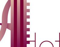 """A Hotel""  identity 2011 - logo"