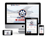 Pilots N Paws Canada Website