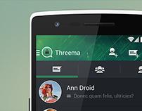 Threema Redesign Concept