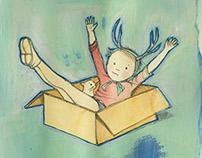De animales y cajas de cartón...