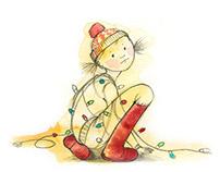 De luces, regalos y renos...
