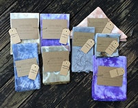 Naturally Dyed Dinner Napkins