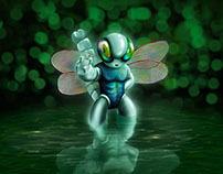 personaje libélula