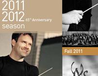 Winston-Salem Symphony 2011 Playbill