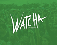 Watcha Logo