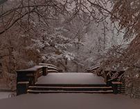 Prospect Park - Snowfall