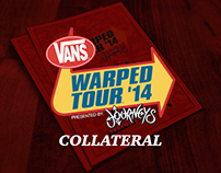 Vans Warped Tour Collateral