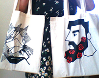 Tote bag designs for the PvdA