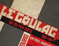 |GRAPHIC DESIGN| Le Goulag Festival