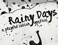 Rainy Days - a Playful typeface