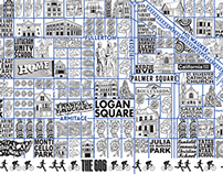 Logan Square Map