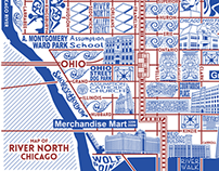 River North Map
