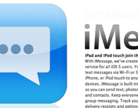 iMessage Logo Design