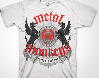 Metal Monkeys Shirt