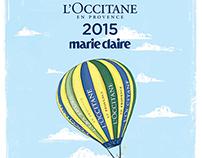L'occitane en Provence Calendar 2015