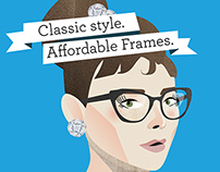 Warby Parker Retro Print Campaign