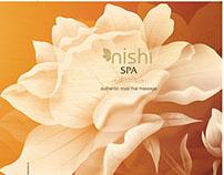 Nishi Spa Menu