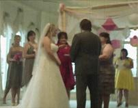 Morgan & Jeff Get Married in Lo-Fi