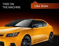 Scion's Facebook Tab