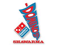 Domino`s Shawarma Logo