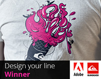 Adobe | Quiksilver - Design Your Line