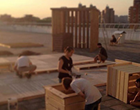 Экоклуб: летнее решение для крыши