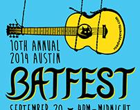 Batfest Event Poster