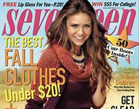 Seventeen Magazine Internship 2012: Issues 10.12-11.12