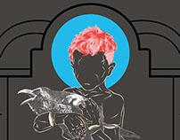Gig Poster: Medicine Boy - Raven Kid