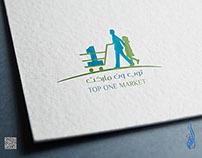 شعار سوبر ماركت توب ون ماركت