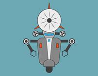 Pontedera, città dei motori dai dirigibili ai robot