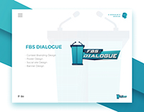 FBS DIALOGUE - UDAF Social media promotion design