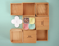 Bonbonbon wooden box packaging