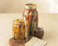 Photo Art Direction - Pickled Cookbook