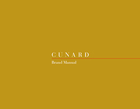 Cunard - Corporate, Brand Manual (propostal)