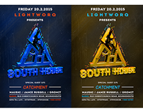 South House Poster Design