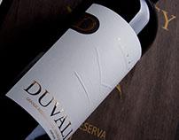 Duvalley || Wine Label Design