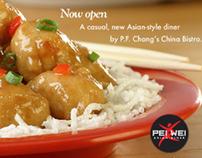 Pei Wei Asian Diner Branding