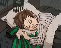 Çocuk Yüreklerde Yeşil Siyah Sevda