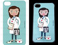 Capas para telemóvel personalizadas - profissões