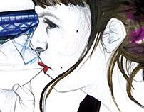 Retratos: Laura